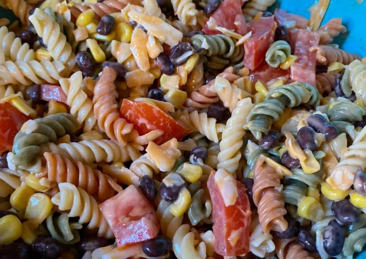 , Easiest Way to Cook Perfect Mexican pasta salad
