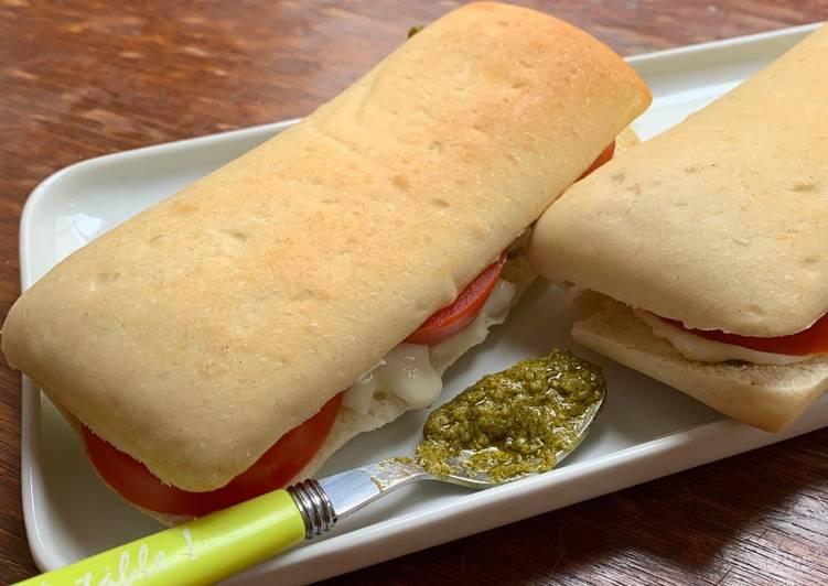 Panini Tomate et Mozzarella☆