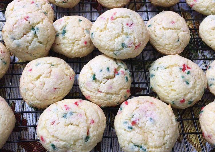Cake Mix Birthday Cake Cookies Or Holiday cake cookies