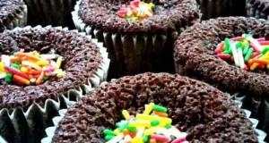 Kek Cawan Coklat Moist