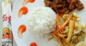 Chicken teriyaki  yasai itame tumis sayur