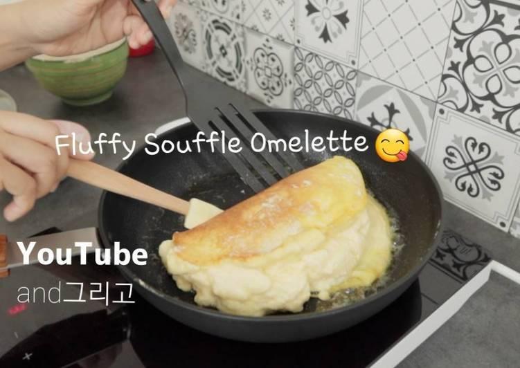 Easy Fluffy Soufflé Omelette