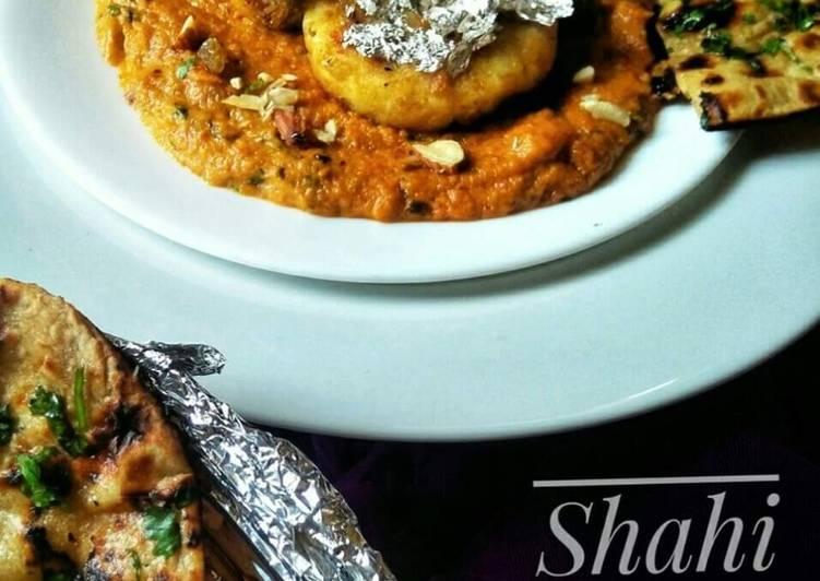 Shahi aloo kofta curry