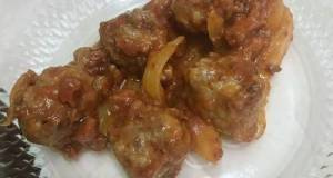 Meatball with bolognese sauce