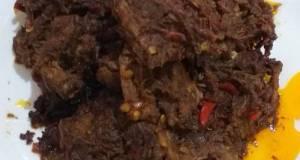 Resep Daging Sapi Rendang Padang Tanpa Kelapa