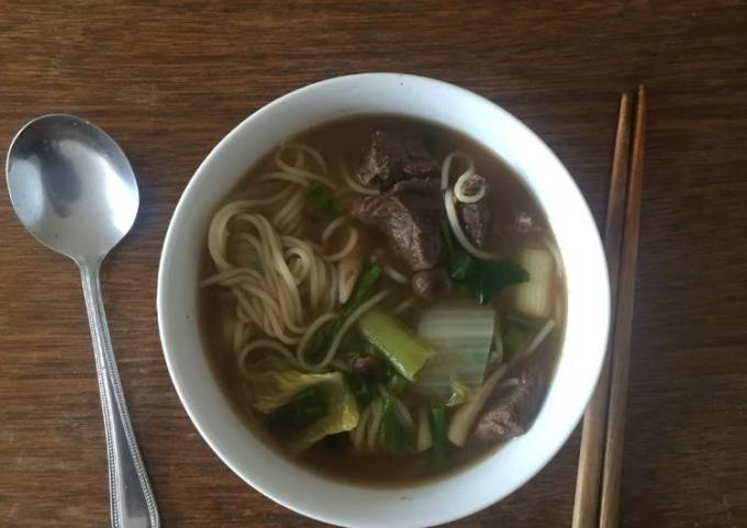Simple Beef noodles