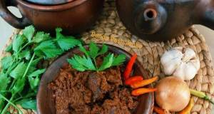 Rendang Daging Sapi Bumbu Tumis