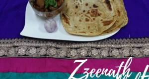 Charkoni Rotis with Tala huwa Gosht