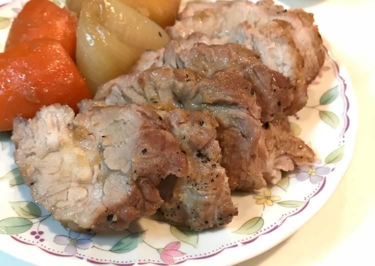Simple Roast Meat  buat Valentine Keluarga