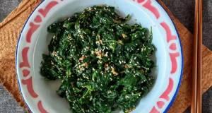 Salad Bayam Korea (Siguemchi Namul)