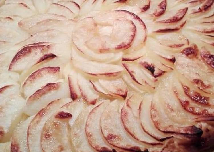 Tarte fine rapide aux pommes 🍏