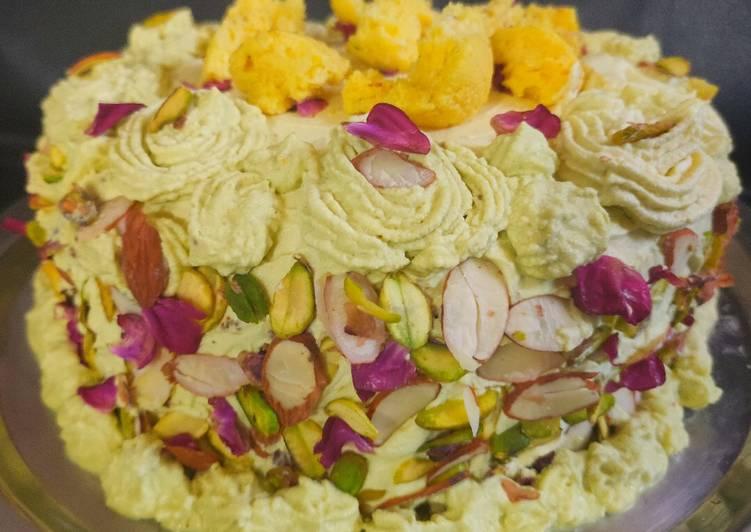 Rasmalai Cake (eggless)
