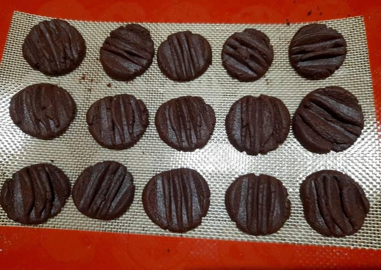 Cookies coklat semprit