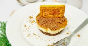 Biskut Tiger Cheesecake Ala Biscoff Cheesecake