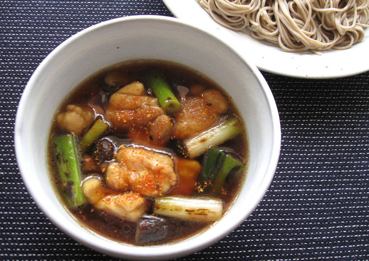 Soba Noodles With Chicken & Shiitake Soup