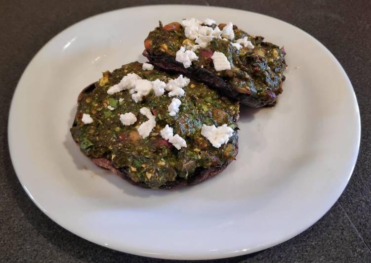 Easy Stuffed Mushrooms (Vegan/Vegetarian)