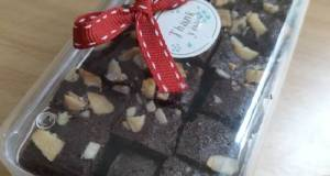 Fudgy Chocolate Orange Brownies (Coklat Jeruk)