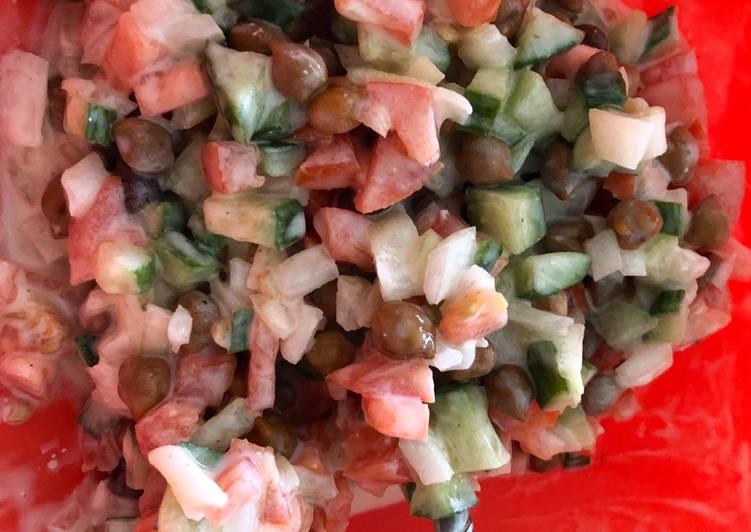 Healthy Chick pea salad