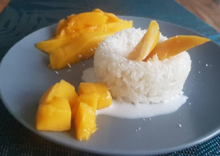 Mango sticky rice 🇹🇭