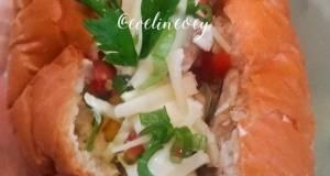 Bruschetta Hotdog Bun