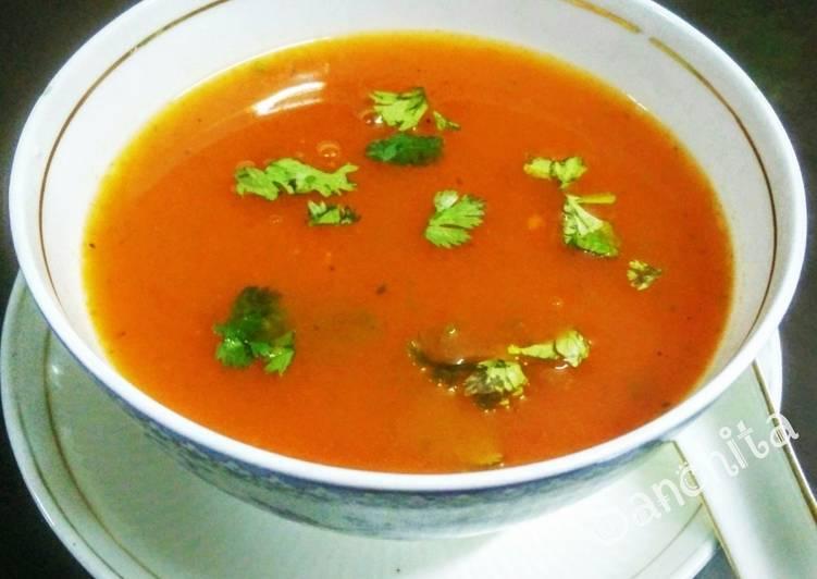 Tomato Coriander Healthy Soup