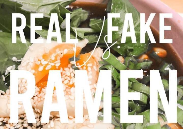 Asian Recipes: Homemade Ramen Soup: FAKE Ramen Recipe in 30 minutes]
