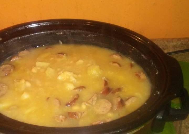 Bean, Potato,Onion, Sausage Soup