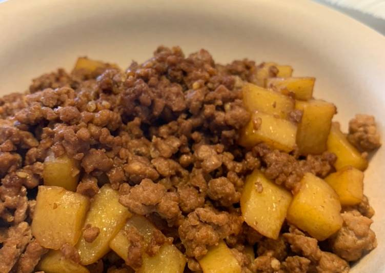 Chinese Style Mince Pork Potato