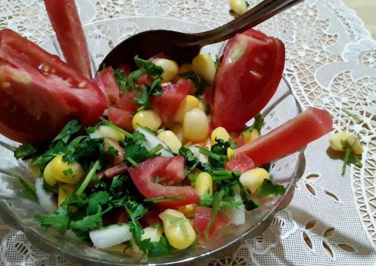 Corn veg salad