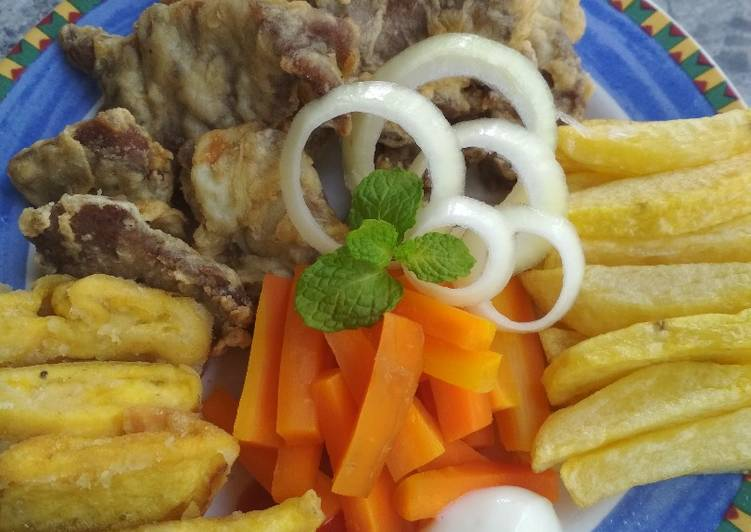 Daging fillet goreng rempah 🍖🔪