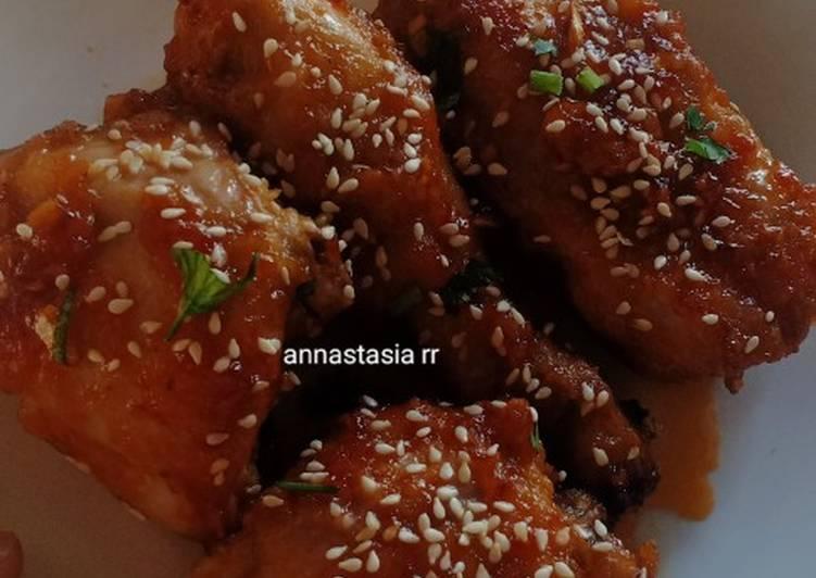 Chicken Gong Jang (Ayam Bumbu Madu ala Korea)