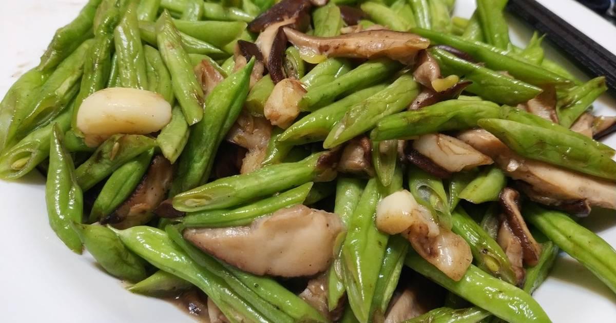 香菇炒四季豆 食譜,作法共6個 - 全球最大料理網站 - Cookpad
