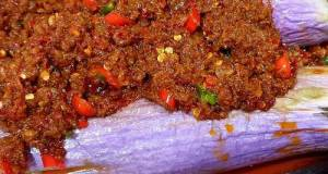 Spicy Mincemeat Brinjal