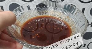 Cuko (kuah Pempek) Palembang