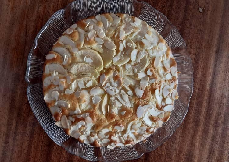 Gâteau aux pommes et amandes 🍎