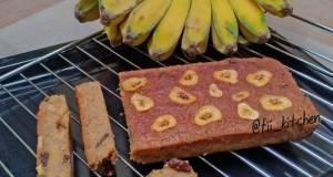 Banana Cinnamon Cake (Gluten Free) No Mixer