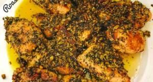 Roasted Chicken / Dada Ayam Panggang (oven)