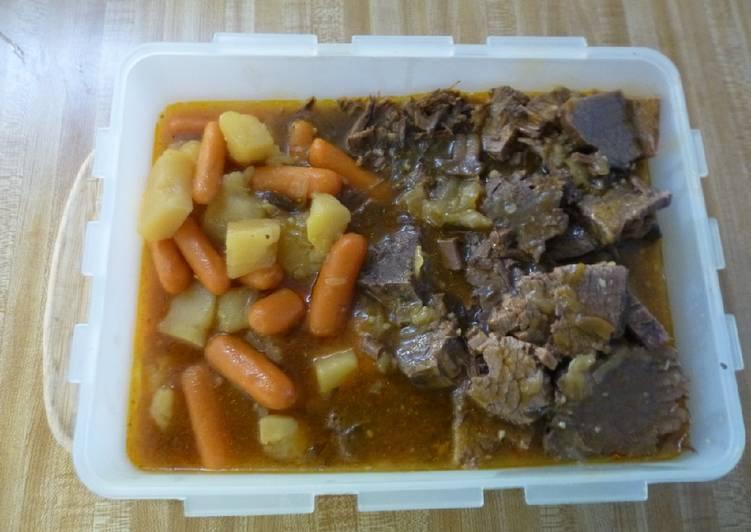 Easy Insta Pot Beef Rump/Vegetable Roast