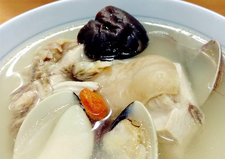 疏小偉 發表的 香菇蛤蜊蒜頭雞湯 食譜 - Cookpad