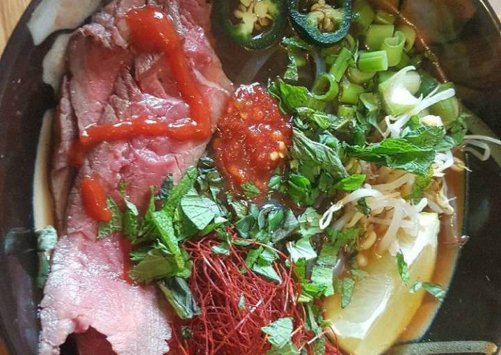 Pho Bo (Thai Beef Soup)