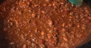 Easy Crockpot Chilli