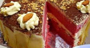 Keto Red Velvet Cheese Cake #ketopad