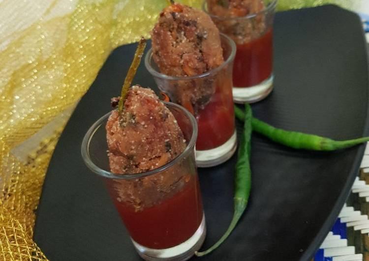 Asparagus Maggi lollipop