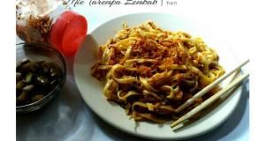Mie Tarempa Lembab khas Kepulauan Riau