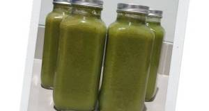 Homemade Green Pressed Juice