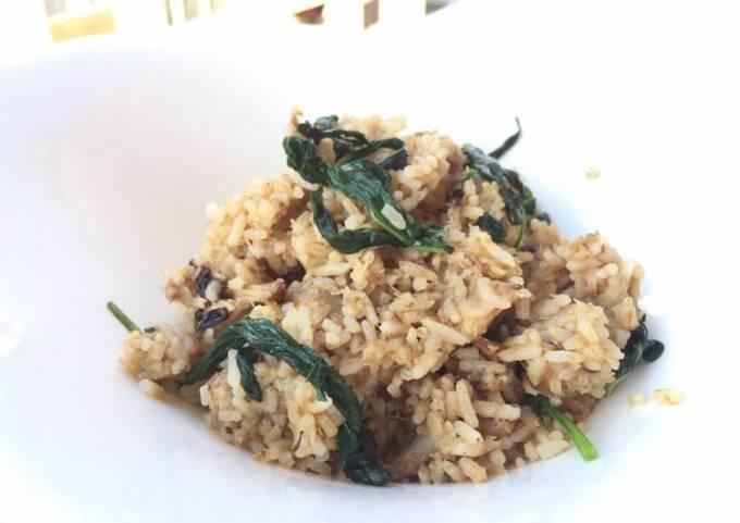 Smoked Herring And Basil Tom Yum Fried Rice
