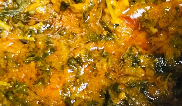 Kulfa curry meal for lunch..!