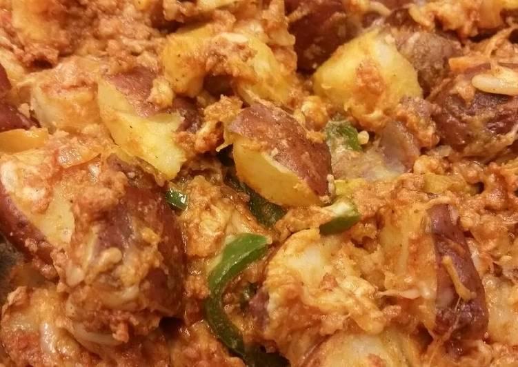 Chorizo Home Fries