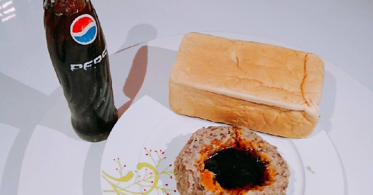 Ewa agoyin and agege bread and pepsi Recipe by Blessing Dinkpa ...