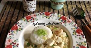 Mabo Tofu on Rice